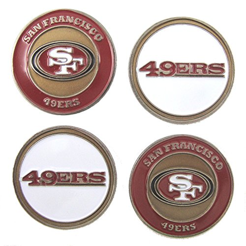 - San Francisco 49ers Golf Ball Markers (Set of 4)