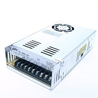 Amazon.com: ampflow s-400 – 24 400 W, 17 A, 24 V DC fuente ...
