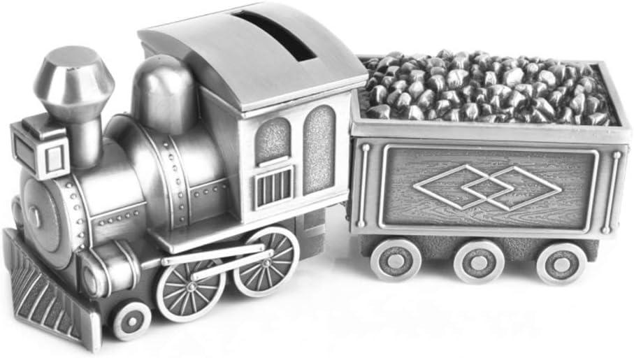 Monederos Tire Tren del carbón Caja de Dinero del Tanque de Almacenamiento con joyería Caja de la Personalidad Creativa Hucha de Monedas