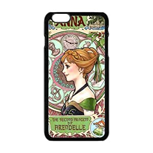 Happy Frozen Princess Anna Cell Phone Case for Iphone 6 Plus