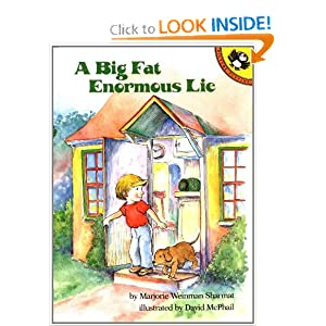 A Big Fat Enormous Lie Marjorie Weinman Sharmat and David McPhail