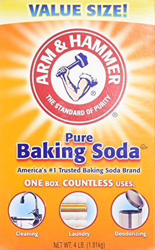 Arm & Hammer Baking Soda-4LB (01170) (Arm And Hammer Multi Cat Litter Ingredients)