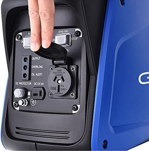 Gentrax Inverter Generator 800W Portable Digital 12V Silent Type Camping Petrol