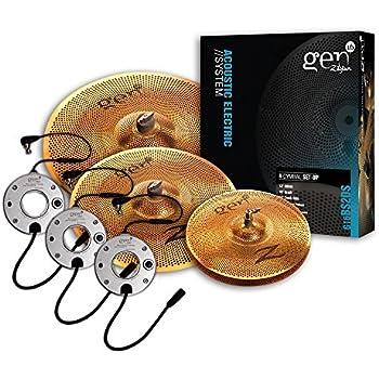zildjian gen16 buffed bronze 13 16 18 cymbal set musical instruments. Black Bedroom Furniture Sets. Home Design Ideas