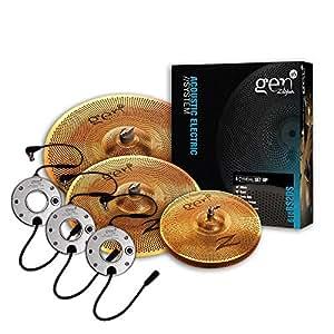 Zildjian Gen16 Buffed Bronze 13/16/18 Cymbal Set