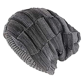 2846451c4a1 Elvy miaoxi Hip Hop Fashion Adult Winter Skullies   Beanies for Men Warm Casual  Hat Knitted Unisex Solid Gorros Women Woolen Hats  Amazon.in  Clothing   ...
