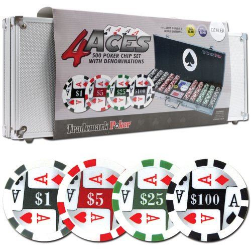 Trademark poker 500 poker chip set can you make a living from online poker