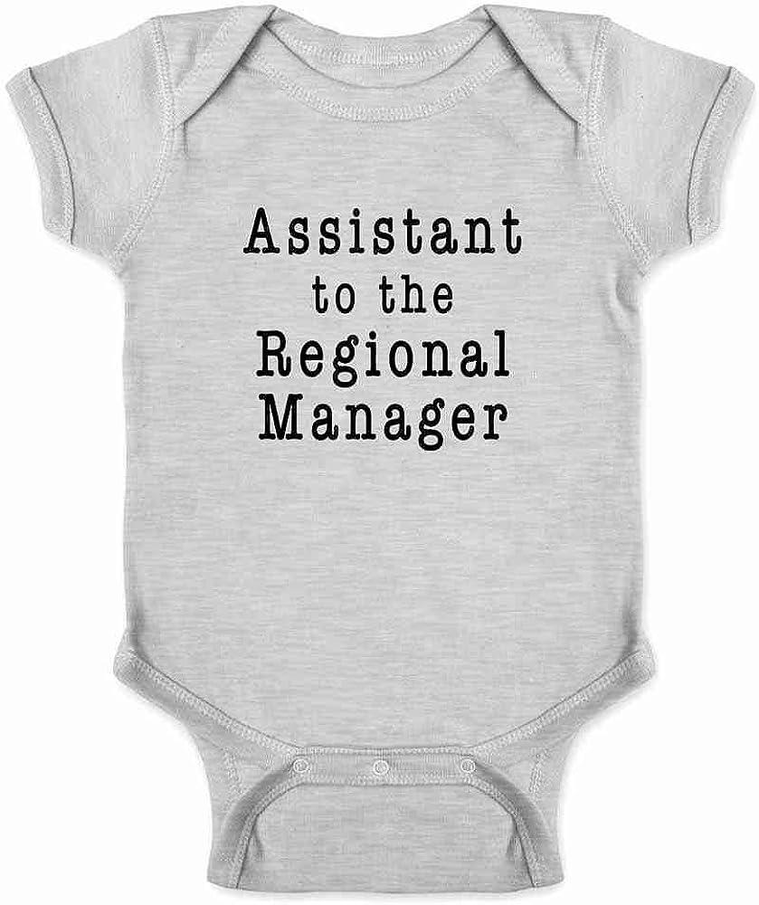 Pop Threads Workplace Office Humor Funny Merchandise TV Show Infant Baby Boy Girl Bodysuit