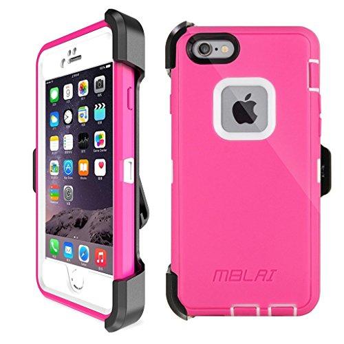 iPhone 6s Plus Defender Case: LongRise Robost 4-Layer Hea...