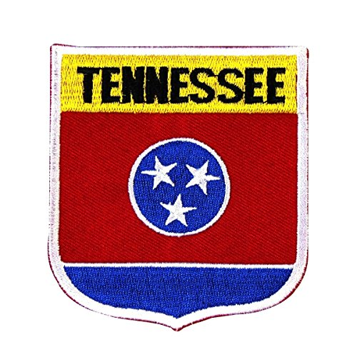 State Of Tennessee Shield Flag Embroidered Applique - Tennessee Opry