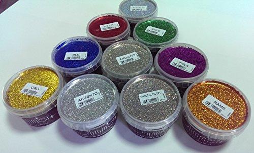 Pareti Glitterate Fai Da Te : Brillantini per pareti glitter in emulsione per la decorazione