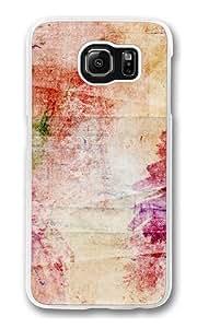 Colours background Custom Samsung Galaxy S6/Samsung S6 Case Cover Polycarbonate Transparent