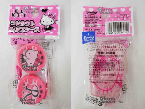 Hello Kitty Contact Lens Case Holder
