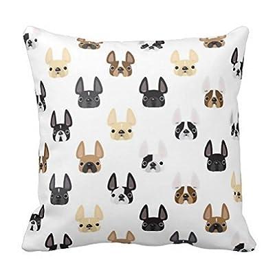 "Phantoscope Animal Series Decorative Throw Pillow Case Cushion Cover 18""x 18"""