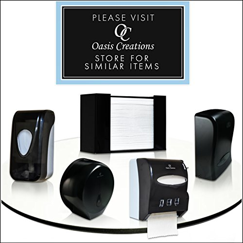 Oasis Creations Touchless Wall Mount Paper Towel Dispenser, Hold 500 Multifold Paper Towels by Oasis Creations (Image #5)