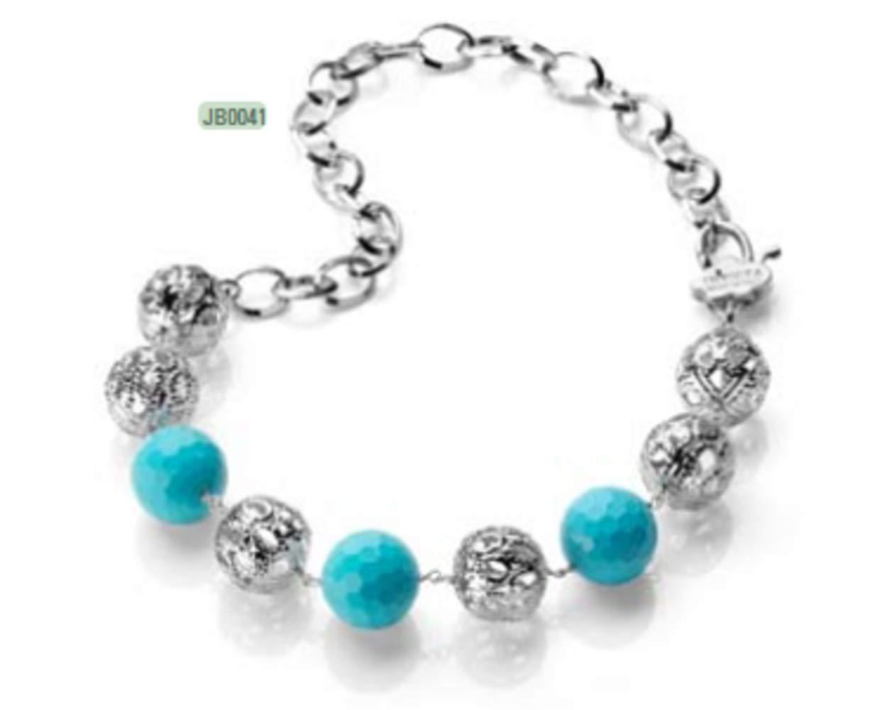 Invicta Necklace Selection (Iron. Turquoise. Rhodium Plating Necklace - JB0041)