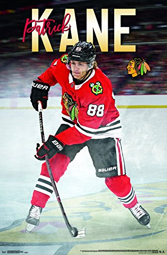 "Trends International""""Chicago Blackhawks - Patrick Kane Wall Poster, 22.375"" x 34"""