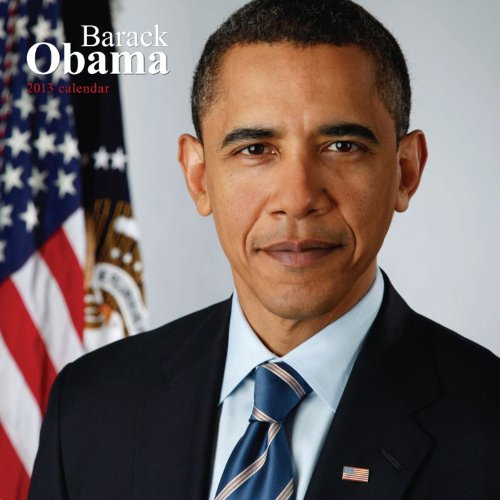 President Barack Obama 2013 Faces Square 12X12 Wall (Multilingual Edition) by BrownTrout Publishers