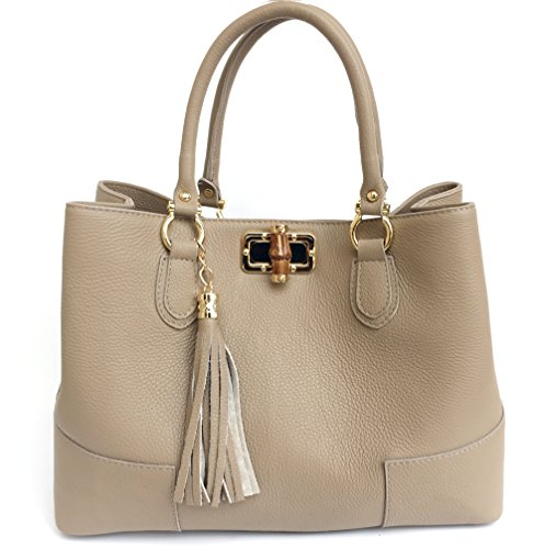 Superflybags - Womens Tote Bag Taupe