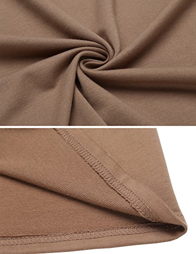 Beyove Women's Sleeveless Long Open Cardigan Vest Blazer Vests,XX-Large,Khaki by Beyove (Image #4)
