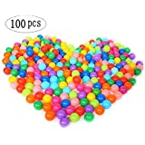 100pcs Pit Balls Colorful Soft Plastic Ocean Water Pool Ball For Baby Kid Toy Swimming Pit Toy