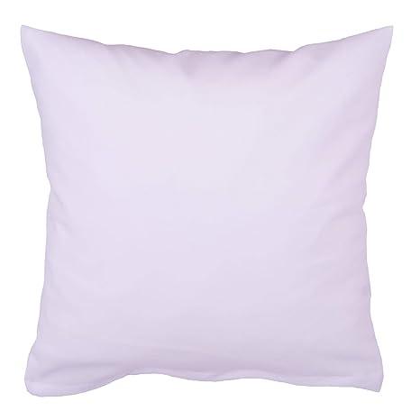 Hans Textil Shop Kissenbezug 30x30 Cm Weiß Baumwolle Deko Sofa Kissen Kopfkissen Kissenhülle
