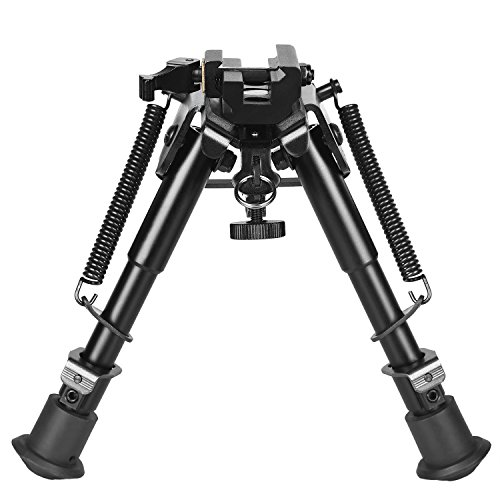CVLIFE 6-9 Inches Rifle Bipod Quick Release Adapter Included