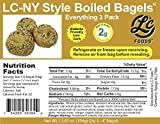Low Carb Everything Bagels (3 Bagels) - Fresh Baked