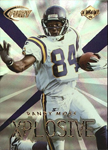 (1999 Collector's Edge Fury Xplosive #13 Randy Moss - NM-MT )