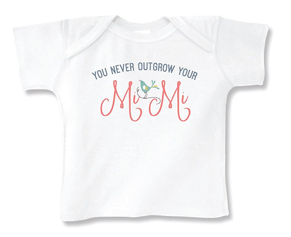 T2-T4 #2606TT Mi Mi Soft Cotton Short Sleeve Tee Top NB-18 Months