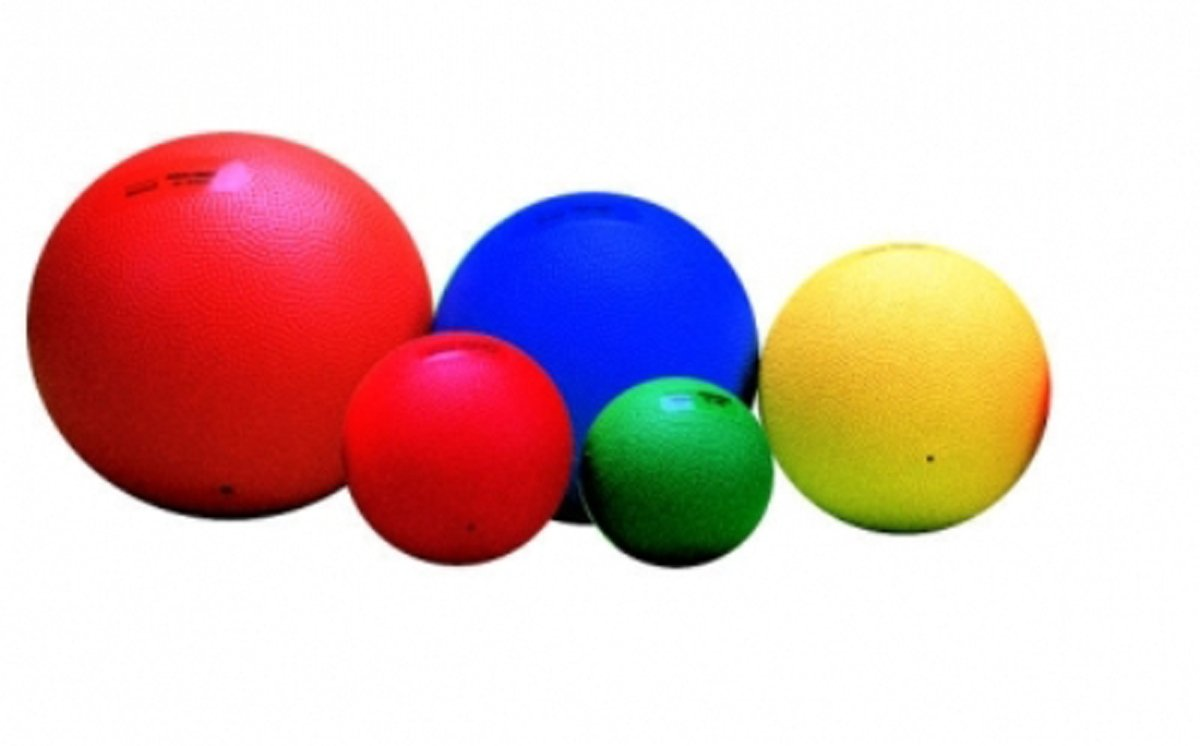 Heavymed Balls - 5000gm, 23cm Diameter, Red