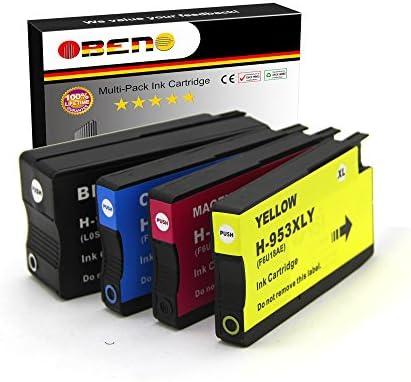 OBENO - 1Set - 953XL 4pack reemplazo compatible cartuchos de tinta ...