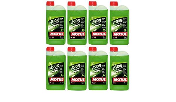 Motul Vision Expert Ultra - Limpiador concentrado para parabrisas (8 L): Amazon.es: Coche y moto
