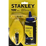 STANLEY 47-443 3 Piece Chalk Box Set - 4-Ounce bottle Red STANLEY Chalk and Plastic Line Level