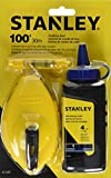 Tools & Hardware : Stanley 47-443 3 Piece Chalk Box Set - 4-Ounce bottle Blue Stanley Chalk & Plastic Line Level