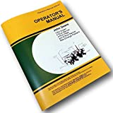 John Deere 7000 Max-Emerge 4-row wide 4-row narrow 6-row narrow Drawn Planters OEM Operators Manual