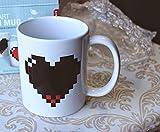 Airblasters Magic Morning Mug Coffee Tea Milk Hot Cold Heat Sensitive Color-changing Mug Cup