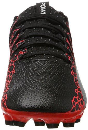 De Graphic Evopower fiery Zapatillas Fútbol black silver Negro Ag 2 Para Vigor Coral Hombre Puma dY4Oqtt