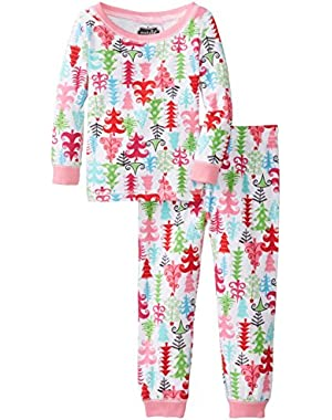Unisex-Baby Newborn Christmas Tree Lounge Set