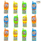 """ArtCreativity 4"""" Cellphone Water Ring Game (Pack of 12) 
