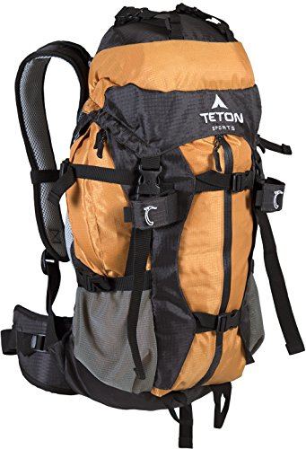 Teton Sports Summit 1500 Ultralight Backpack; Lightweight Daypack; Durable Hiking Backpack for Camping, Hunting, and Travel; Just the Right Size for a Quick Getaway; Don't Settle for the Basics by Teton Sports (Image #2)