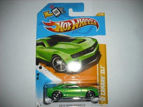Hot Wheels 2012 New Models GREEN 12 CAMARO ZL1 #39