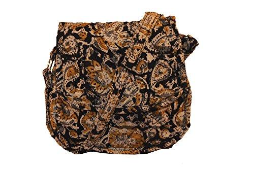 Round Shraddhaa Women's Cross Bag Kalamkari Black Body wTZIxTqHvn