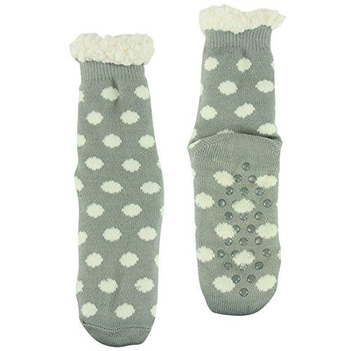 Forfoot Women's Winter Warm Polka Dots Soft Fleece Lining...
