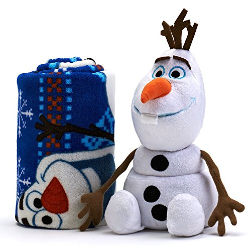 Disney Frozen Olaf 2-pc. Pillow & Plush Throw Set - Fleece (Ana Fleece)