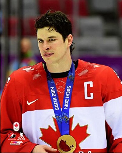 2014 Olympic Gold Medal - Sidney Crosby Team Canada 2014 Winter Olympics Gold Medal Photo (Size: 8