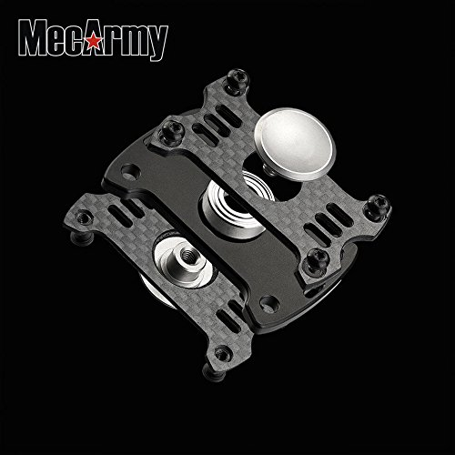 GP1 Titanium Fidget Spinner, Hand Excise, Relieves Stress and Anxiety, MecArmy (black) by MeCarmy (Image #7)