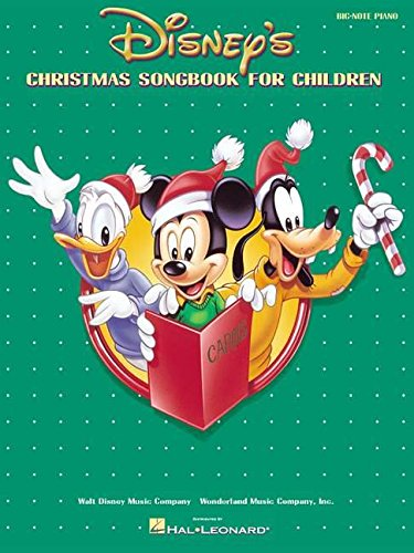Disney's Christmas Songbook for Children (Big-Note Piano)