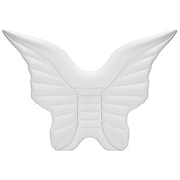 Hung Kai Alas de ángel hinchables Gigantes para Piscina, alas de ángel, Flotante,