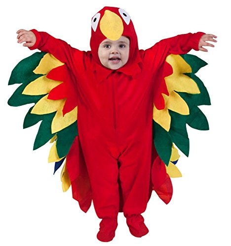 [Baby Parrot Costume 12-18M] (Parrot Infant Costumes)